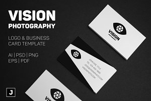 Vision Photo Logo + Card Template