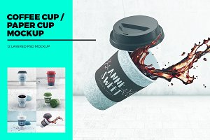 Coffee cup / Paper cup MockUp