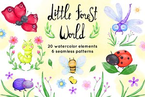Little forest world collection