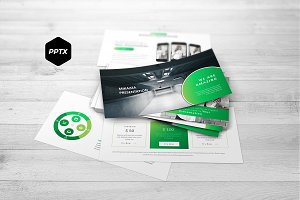 Mikazza - Powerpoint Template
