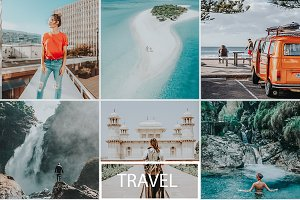 Travel Blogger Preset