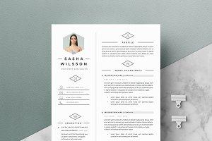 5 page Resume Template | Galerista