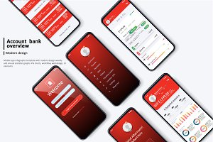 Banking App UI Kit for mobile app