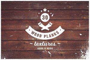 30 Wood Planks Textures