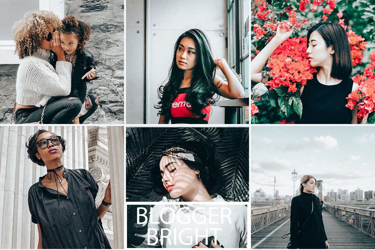 Blogger Bright Preset