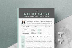 4 page Resume Template | iNova