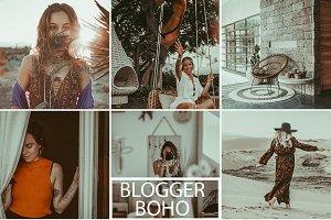 Boho Blogger Preset