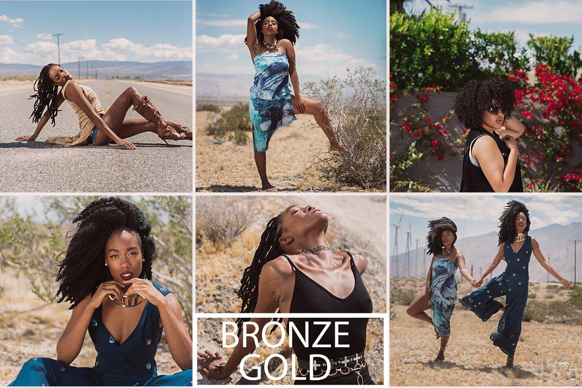 Bronza Gold Preset