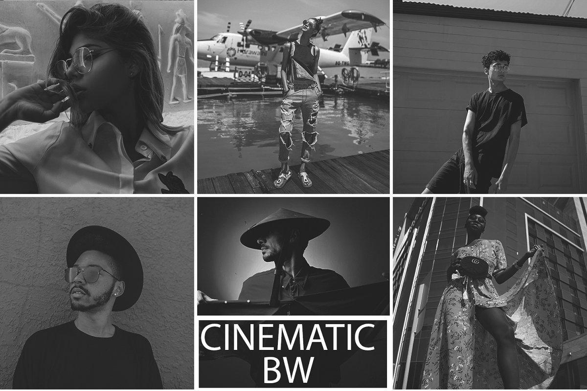 Cinematic BW Preset