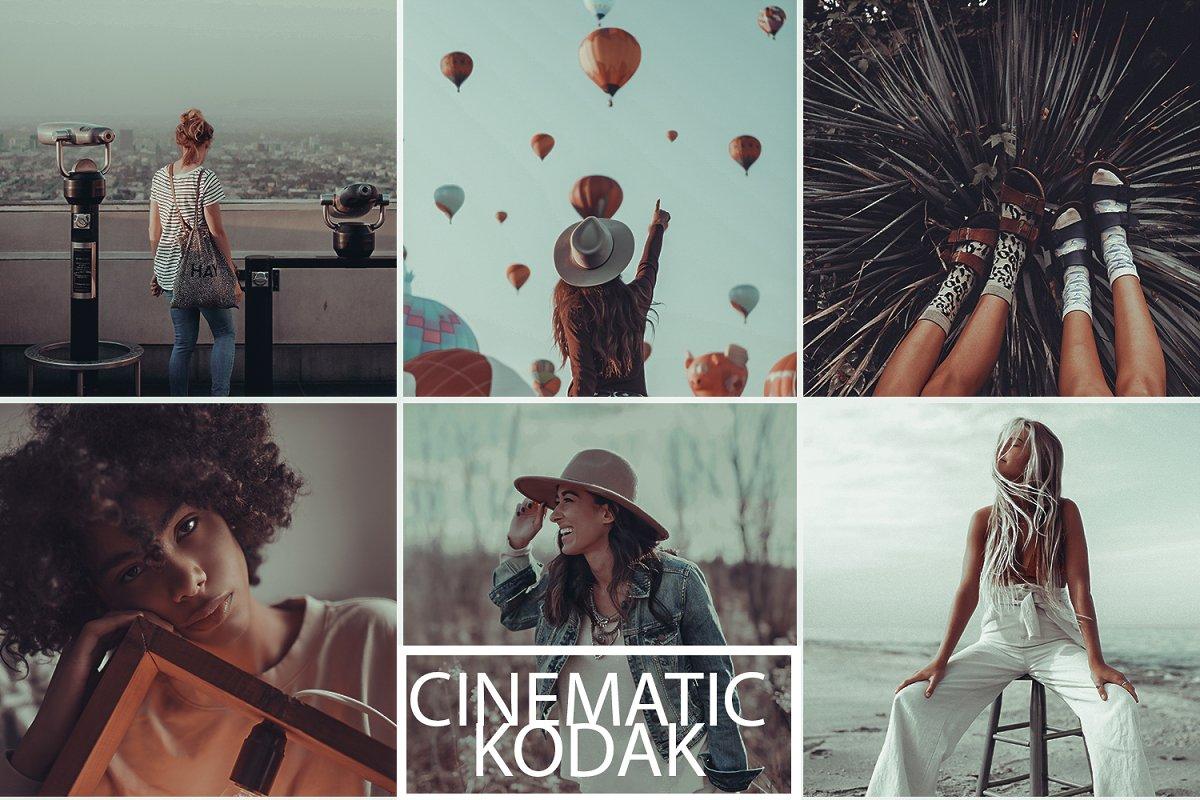 Cinematic Kodak Preset