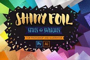 Shiny Glitter Foils for PS+Ai UPDATE