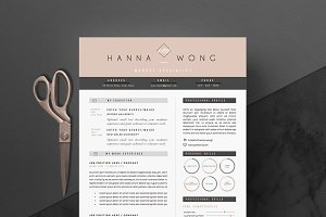 5 page Resume Template | Skinny