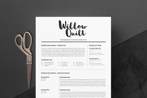 5 page Resume Template | Ink