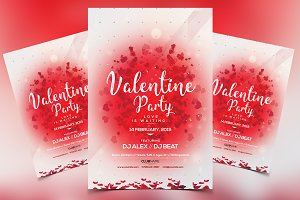 Valentine's Invitation - PSD Flyer