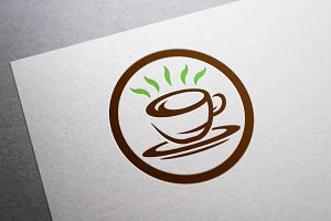 Nice Coffee Logo Template