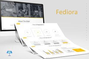 Fediora - Keynote Template