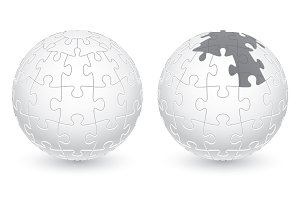 Jigsaw Puzzle Ball
