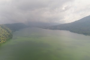 Lake in the mountains Bali,Indonesia