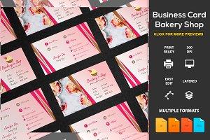 Business Card Bakery Shop