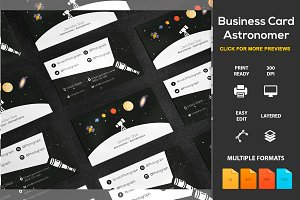Business Card Astronomer