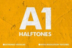 A1 Halftone Textures