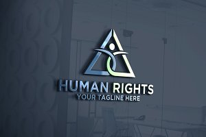 Human Rights Logo | Letter A