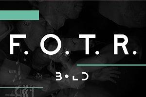 F. O. T. R. bold