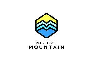 Minimal Mountain Logo