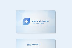 Medical professional business card