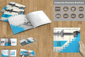 Corporate Brochure -InDesign-V142
