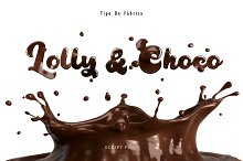 Lolly and Choco || Script Font by  in Script Fonts