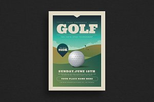 Golf Tournament Event Flyer