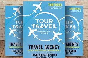 A4 Tour Travel Flyer
