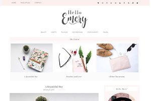 Wordpress Theme Emery