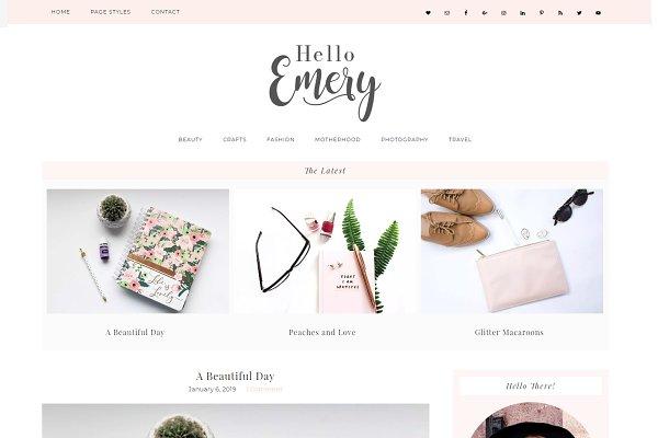 Wordpress Theme Emery