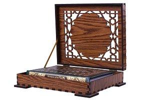 Wooden Quran Box