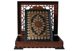 Wooden Quran Box Front