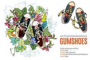 Gumshoes Sketch Set