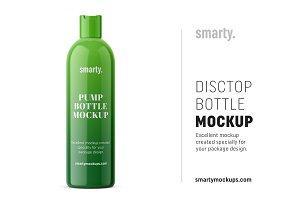 Cosmetic bottle / disctop / glossy