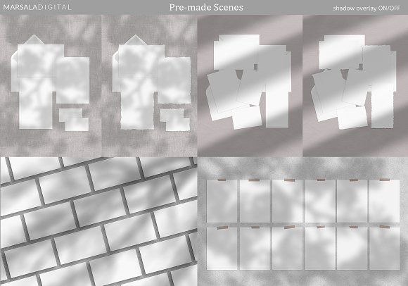 Mood Board Mockup Scene Creator in Scene Creator Mockups - product preview 1