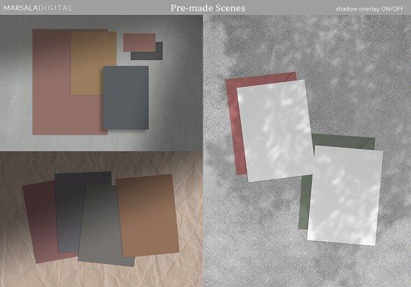 Mood Board Mockup Scene Creator in Scene Creator Mockups - product preview 2