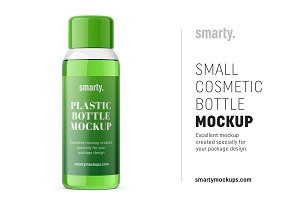 Cosmetic bottle mockup / transparent