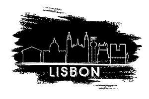 Lisbon Portugal City Skyline
