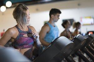 Training treadmill