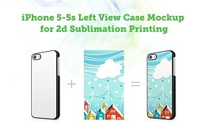 iPhone 5s 2d Case Mock-up