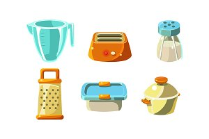 Kitchen utensils set, cooking tools