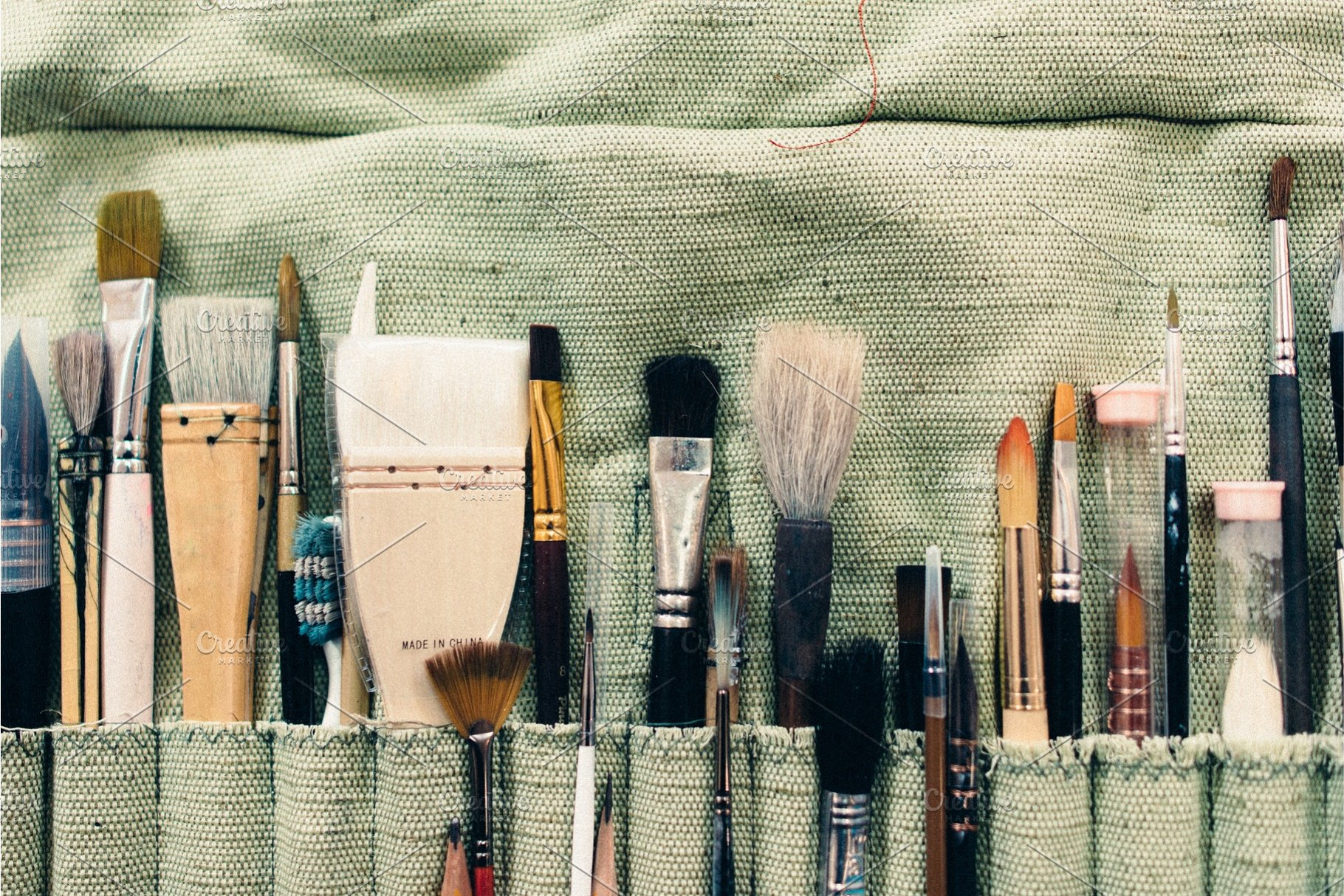 Art Brushes Different Types For