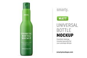 Universal bottle mockup / matt