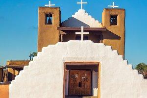 San Geronimo church in Taos Pueblo