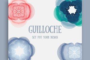 Guilloche set